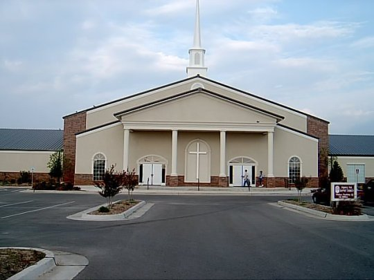 The new Worship Center of Regency Park Baptist Church, built for the glory of God.
