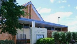 Annerley Baptist Church near Brisbane