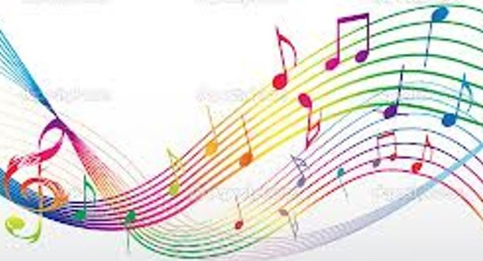Colourful Musical Notes