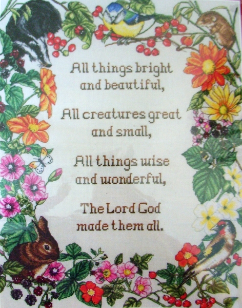 all things great and small poem