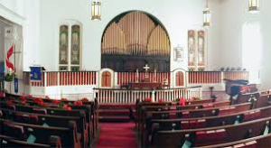 "The choir loft of Lyttleton Street United Methodist Church in Camden, South Carolina, was the location of the premiere of Travis' ""All Things Bright and Beautiful"" choral anthem."