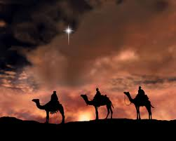 Wise men from the east come seeking the baby Jesus