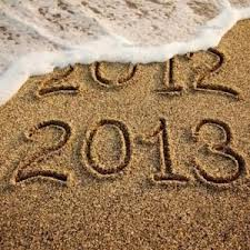 A new year!  We love new beginnings!  May 2013 be a year of blessings for you!