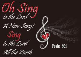 Sing to the Lord a new song all the earth