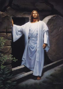 Jesus - In front of tomb 1