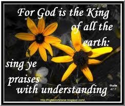 Sing praises with understanding