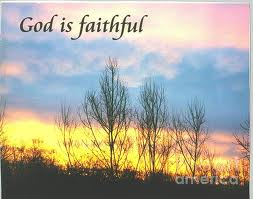 God is Faithful sunrise photo