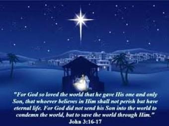 Nativity John 3 16