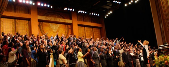 The 280 voice Brooklyn Tabernacle Choir, Brooklyn, NY, under the direction of Carol Cymbala, recorded 2 CDs in 2013,