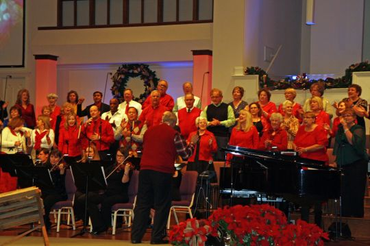 First Baptist Church of Duluth Adult Choir, Duluth, GA, directed by Travis L. Boyd