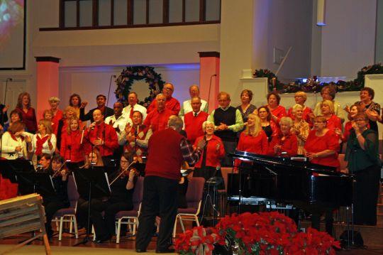 First Baptist Church of Duluth Adult Choir, Duluth, GA, directed by Travis L. Boyd