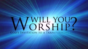 Worship is God's invitation to transformation.