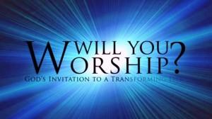 Worship is God's invitation to transformation.