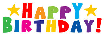 Happy Birthday banner colorful
